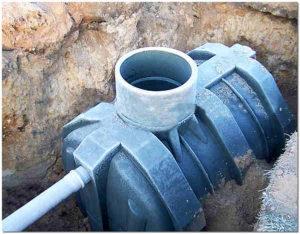 пластиковая полипропиленовая емкость для выгребной ямы