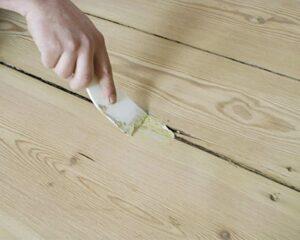 как заделать трещину в деревянном изделии