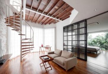 Винтовая лестница. Особенности конструкции, преимущества, недостатки, материалы