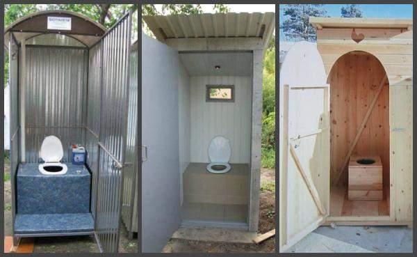 Чем отделать дачный туалет изнутри